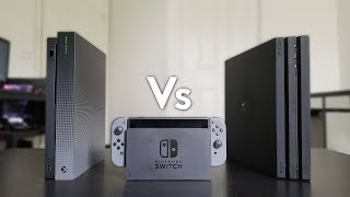 Xbox One X Vs Nintendo Switch Vs PS4 Pro - Review