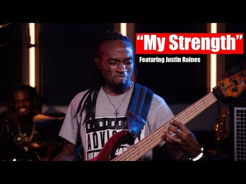 """""""My Strength"""" by Israel & New Breed - Bass Cover featuring Justin Raines on Bass"""