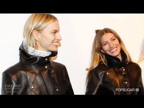 See Gisele Bündchen and Karolina Kurkova's Style at the Alexander Wang Show