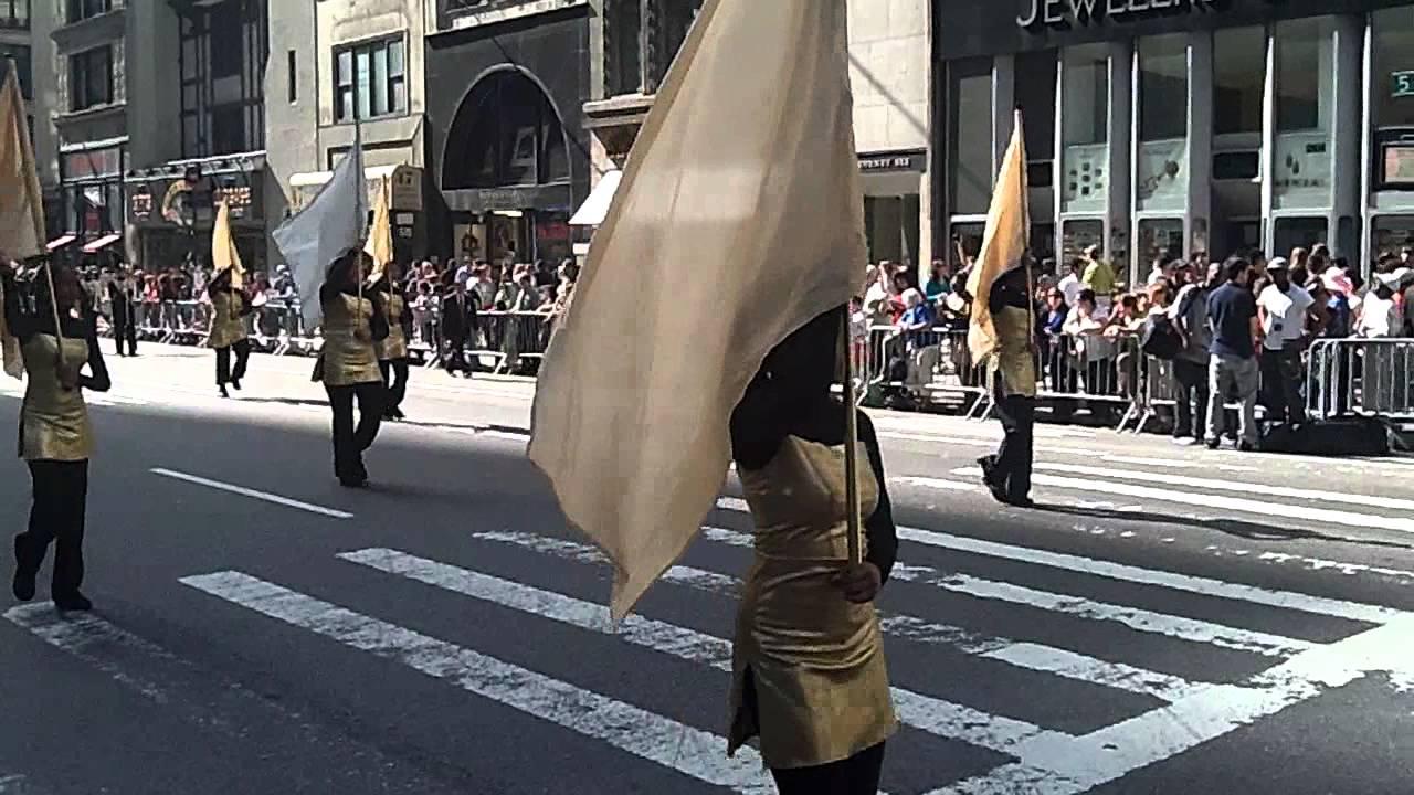 Columbus Day Parade~NYC~2011~Sewanhaka Central Marching ...