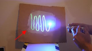 Drawing With a Laser on the World's Brightest Paint