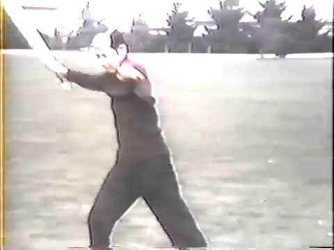 Franklin Kwong performing the Yang Tai Chi sword form