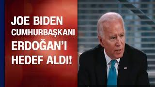 Joe Biden Cumhurbaşkanı Erdoğanı hedef aldı \darbe ile değil seçimle yenilecek\ dedi