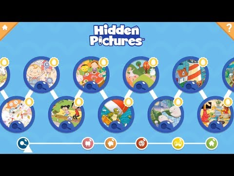 Hidden Pictures Puzzle Town Kids Learning Games Apps On