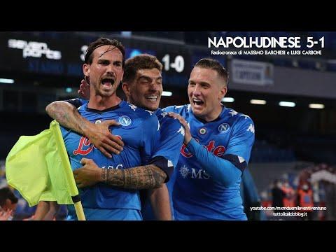 NAPOLI-UDINESE 5-1 - Radiocronaca di Massimo Barchiesi e Lui