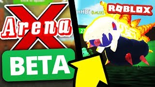 Pokemon Legends Teams NEW Roblox Game!
