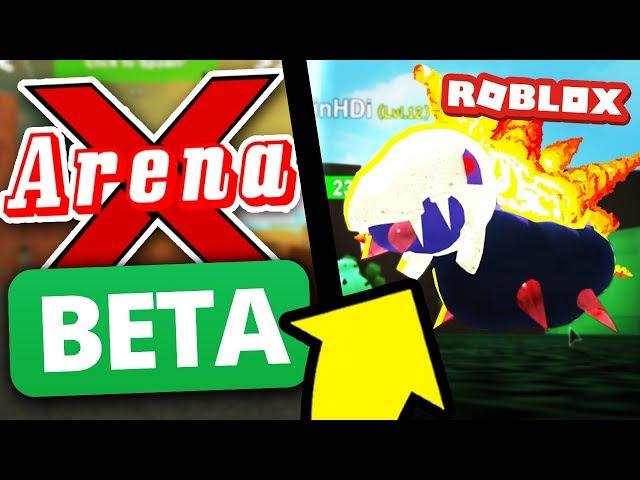 Pokemon Legends Teams NEW Roblox Game!