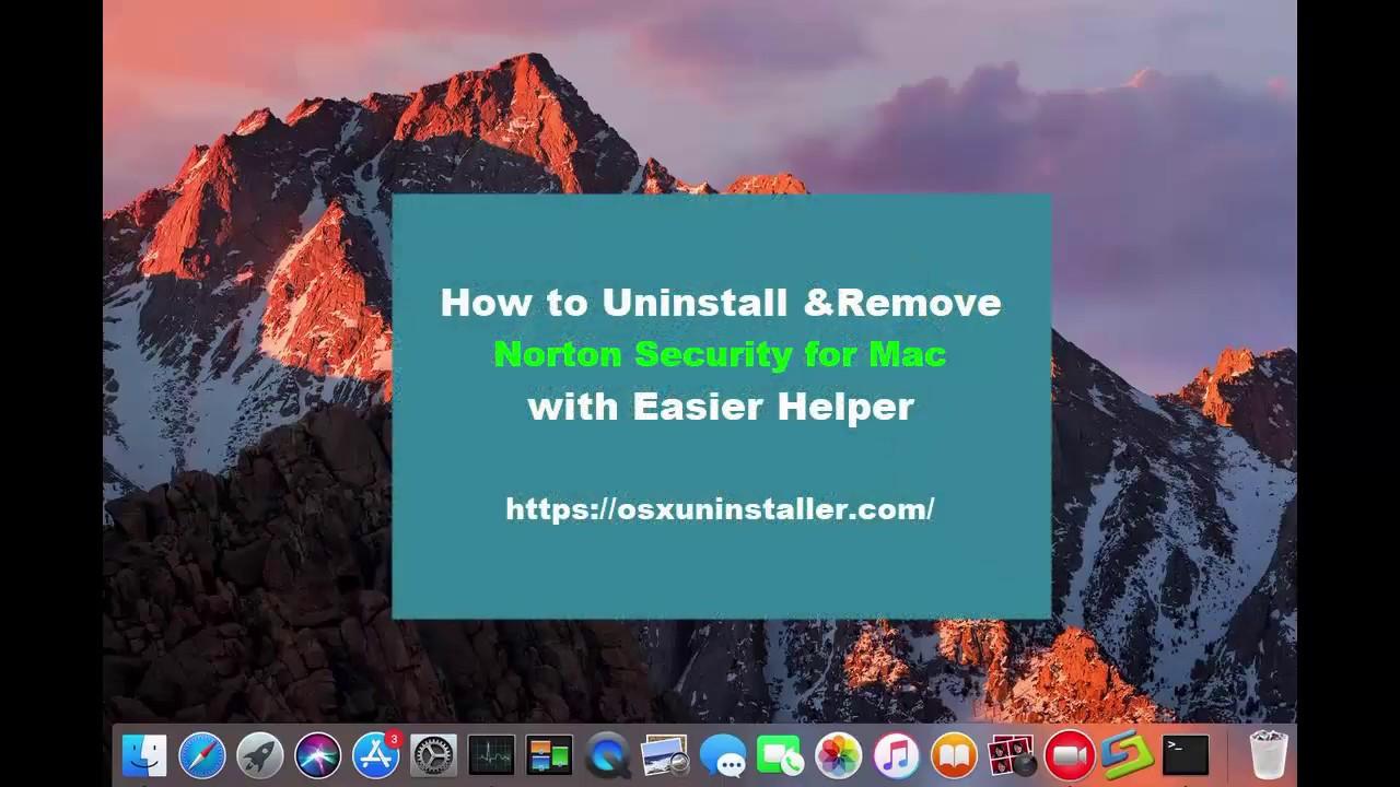 Easily Uninstall Norton AntiVirus 2018 on Mac, Norton Removal