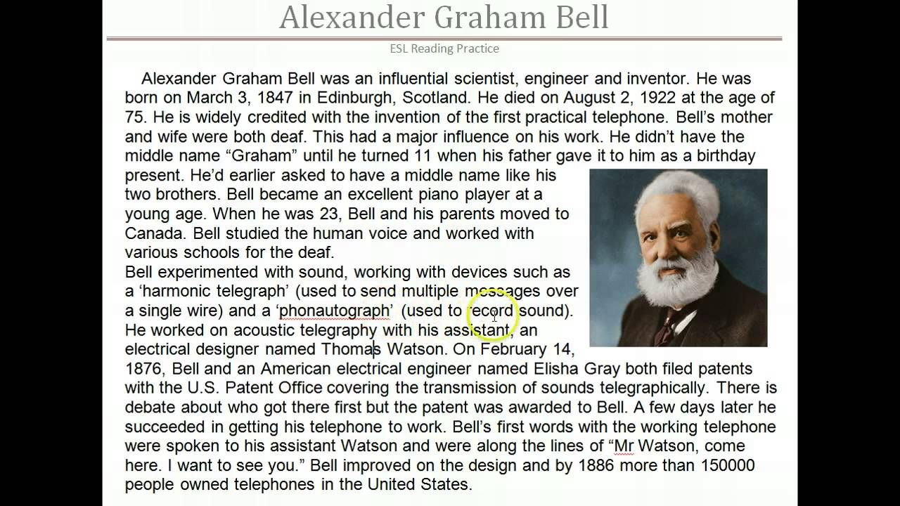 an introduction to the life of alexander graham bell Everglades biographies  fairchild became acquainted with alexander graham bell and his  the plant introduction facility that swingle and fairchild.