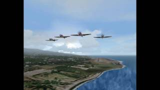 Flying Lions the Rwy is Wet (FS2004)