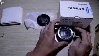 [REVIEW] Mở Hộp Dock Tamron TAP - in Console