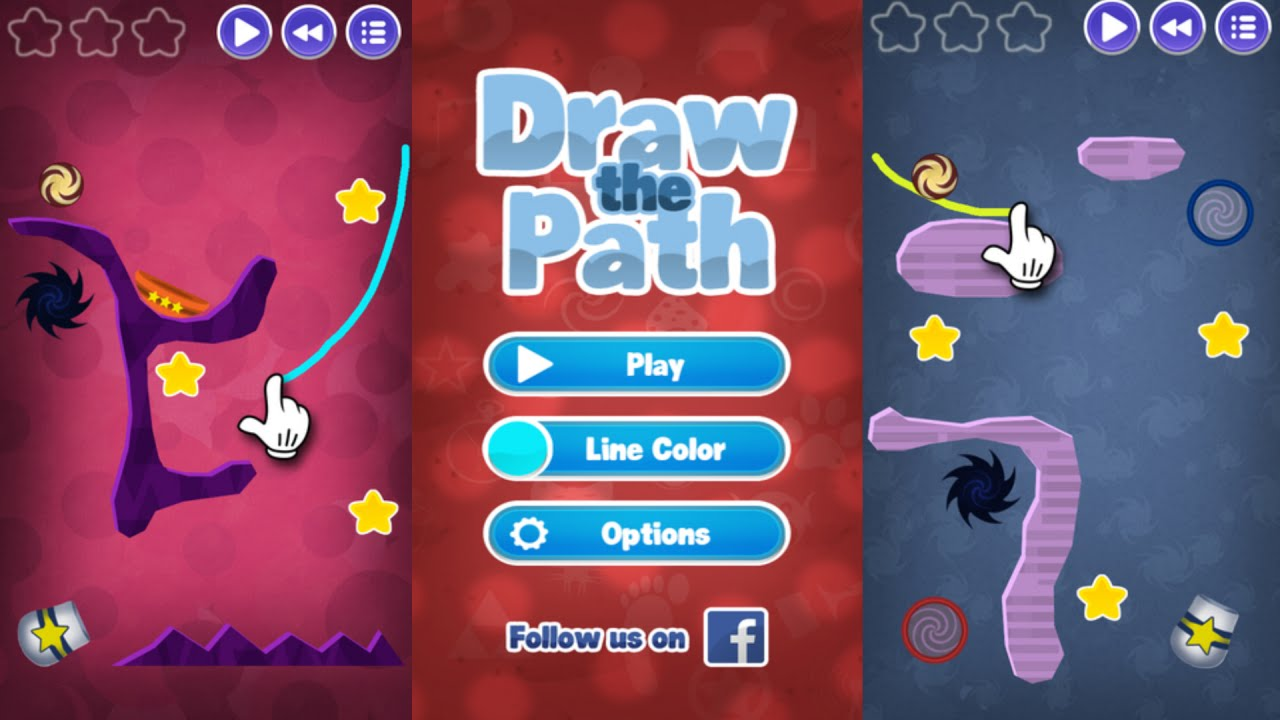 Drawing Line Xcode : Draw the path st review simple physics puzzle game ios