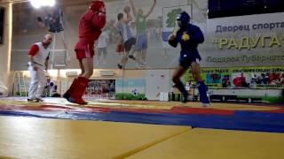 Рашид Ахмедов Всероссийский турнир по боевому самбо 1 бой