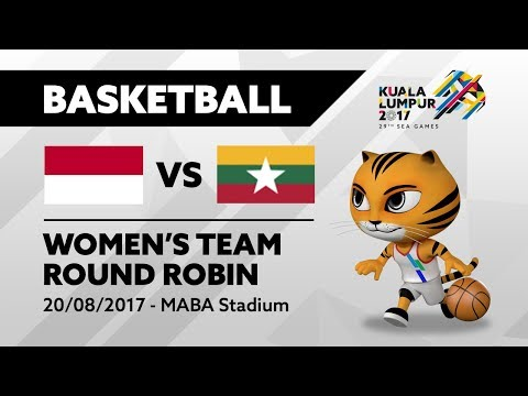 KL2017 Women's Basketball - INA 🇮🇩 vs MYA 🇲🇲  |20/08/2017