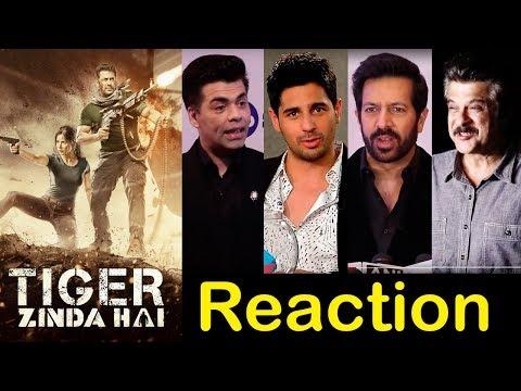 Bollywood Celebs Reactions On Salman Khan's Tiger Zinda Hai Trailer
