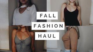 TRY ON Fall Clothing Haul 2016: Zaful