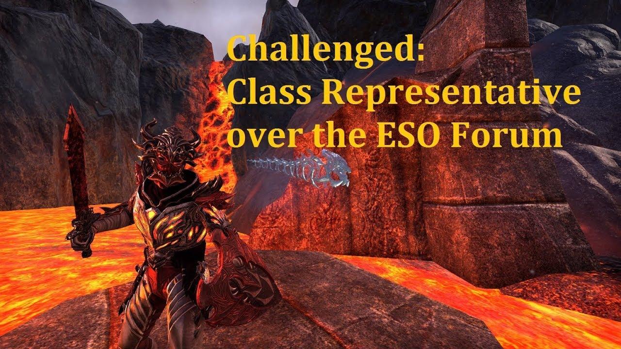 ESO | Bubosh Stam DK: Challenged Class Representative after