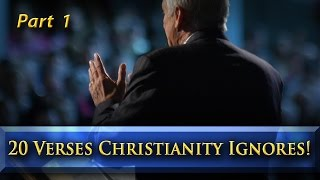 20 Verses Christianity Ignores! (Part 1)
