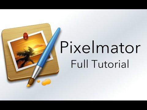 Pixelmator: FULL TUTORIAL