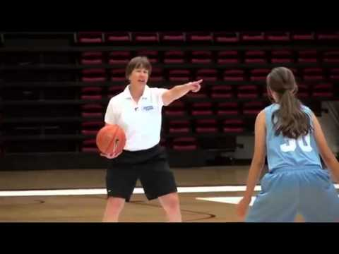 Defensive Drills for Youth Basketball | Mass Defense Part 1 by Tara VanDerveer