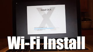 Installing Mac OS X on Blank Hard Drive Using Internet Recovery