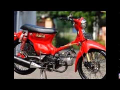 Modifikasi Motor Kuno Klasik Honda C70 Mesin Karisma