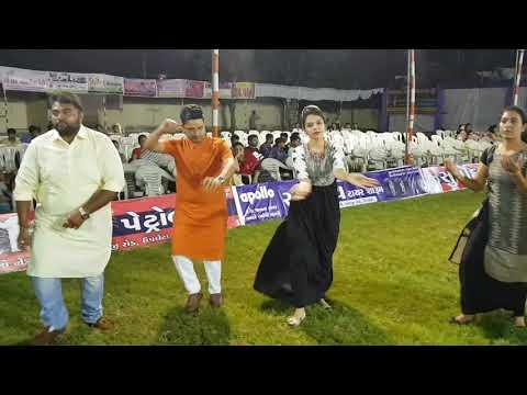 Dr Piyush Borkhatariya Playing Garba at Apple Green Party Plot