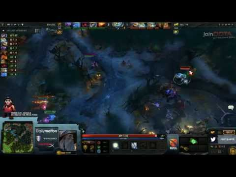 Fnatic vs Na`Vi - D2CL 4 playoffs - G2