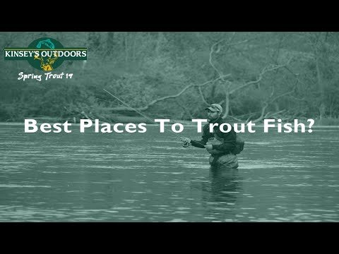 Best Places To Trout Fish In Pennsylvania? | PA Spring Trout Series