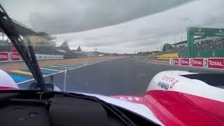 Fernando Alonso Toyota LMP1 LeMans 2018 Onboard!!