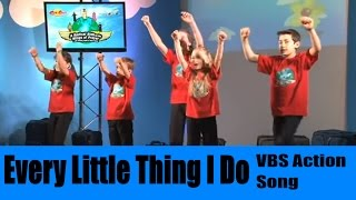 Every Little Thing I do from Radical Ride Cat Chat Catholic VBS.mpg
