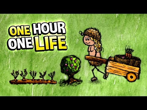 One Hour One Life - LEARNING HOW TO FARM! Living a whole Hour - One Hour One Life Gameplay