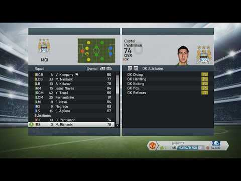 Manchester city fifa 14 player ratings