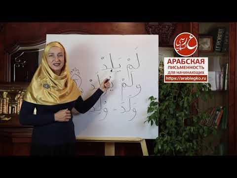 Коран по-арабски для начинающих. Сура «Аль-Ихлас» 112,  Аят третий