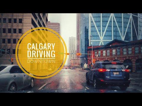 Driving Downtown[03/24/2019]-Calgary, Alberta,