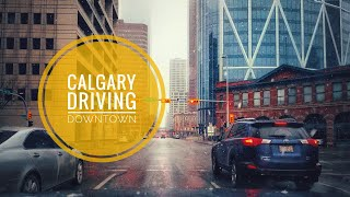 Driving Downtown[03/24/2019]-Calgary,  Alberta, Canada