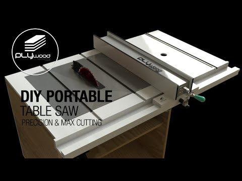 """DIY Table saw portable & easy use """"STANLEY"""" Upgrade modification part 1"""