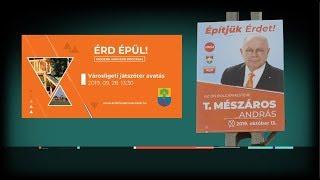 Jogsértő Fidesz-plakátok Érden 19-10-09