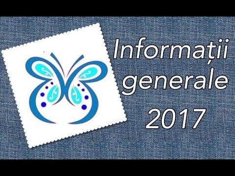 Informatii generale  2017