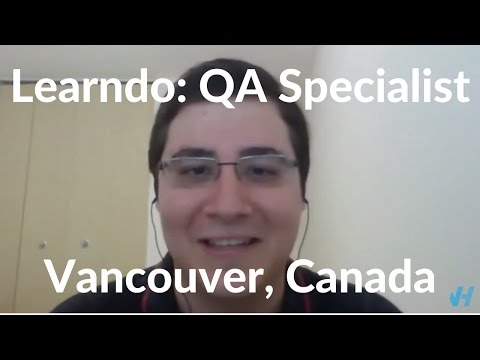 How Leandro Got Hired As A QA Specialist In Canada
