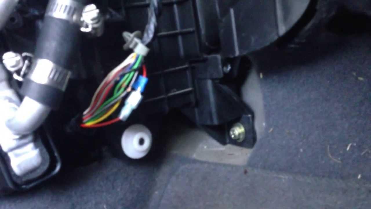 Peterbilt Ac Wiring Diagram 02 Hyundai Elantra Heater Core Replacement 2 Youtube
