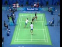Indonesia vs Korea Mixed Badminton Doubles Beijing 2008 Summer Olympic Games