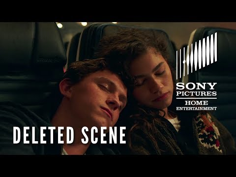 """SPIDER-MAN: FAR FROM HOME - DELETED SCENE """"Peter & MJ on the Plane"""" - On Blu-ray TUESDAY!"""