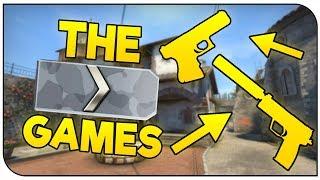 Starter Pistols Only Challenge! | CS:GO Silver Games!