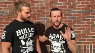 #BulletClub's Page & Cole on facing the Motor City Machine Guns