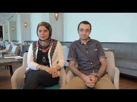 دعوة من فاطمة وعمر لمشاهدة الحلقة 4 - عروستنا 2