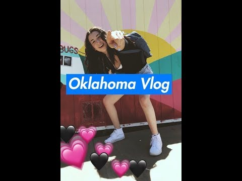 Oklahoma Vlog/Vegan food haul