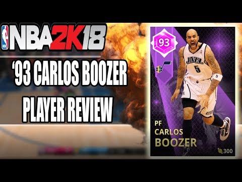 NBA 2K18 - MyTeam - AMETHYST CARLOS BOOZER! (93)! | GAMEPLAY + IN GAME STATS!