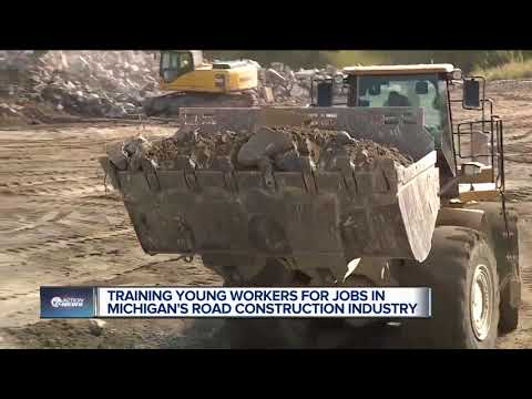 Training Young Workers For Jobs In Michigan's Road Construction Industry
