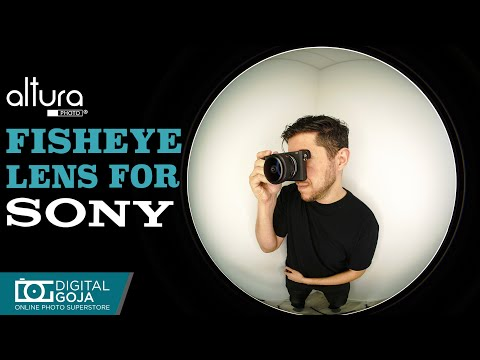 Fisheye Lens For Sony Mirrorless Cameras By Altura Photo    Altura Photo 6.5mm F/2.0 Wide Angle Lens